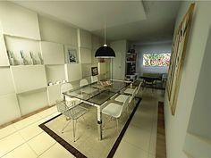 Saiba como decorar uma sala que é retangular e comprida!