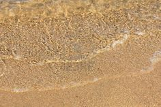 Stock photo available for sale at 123rf: Travel Series. Closeup of the crystal water on the sand. Beach in Sardinia. Stock Photo