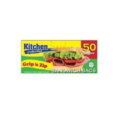 6 5/8 x 5 7/8 Inch Zip and Lock Sandwich/Case of 1200