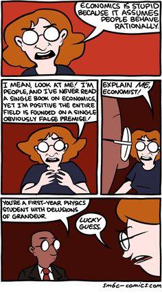 Behavioral modelling in economics Smbc Comics, Funny Memes, Jokes, Breakfast Cereal, Morning Breakfast, Funny Comics, Economics, Behavior, Lol