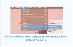 From alternate ways of Take backup iPhone contacts on Mac, Here I guide on best way among others using Mac contacts app. Extract in to CSV, PDF. Mac Os, Big Sur, Windows, Iphone, Big Sur California, Window