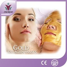 SET OF TWO: UNISEX - 24K NANO GOLD BIO COLLAGEN FACIAL REJUVENATION MASKS. PACKED IN LUXURY SATIN PILLOW BOX Gold surface film using an HSL macro-molecule and 24K NANO gold collagen material, is currently the sticker type of skin care products upgrading of high-grade products, is a new kind of beauty international praise highly scientific and technological achievements. Crystal face film storage is breathable, moisture and nutrients features, such as good bio-compatibility with human skin…