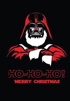 Masterpieces of advertising - Star Wars Images Star Wars, Star Wars Pictures, Star Wars Christmas, Christmas Art, Darth Vader Christmas, Star Wars Navidad, Star Wars Weihnachten, Noyeux Joel, Vader Star Wars