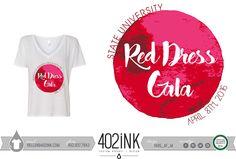 #402ink #402style 402ink, Custom Apparel, Greek T-shirts, Sorority T-shirts, Fraternity T-shirts, Greek Tanks, Custom Greek Apparel, Screen printed apparel, embroidered apparel, Sorority, APHI, Alpha Phi, Philanthropy, Red Dress Gala