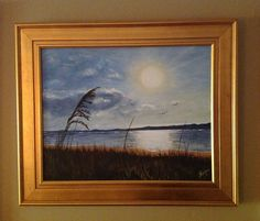 Painted this at the Hilton Head Island.Its done in acrylic.