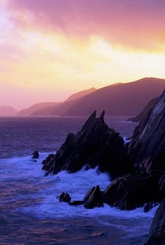 Dingle Peninsula - County Kerry, Ireland  <3 Special to me because this is one I've had the blessing to feast my eyes on in person. Absolutely incredibly stunning.