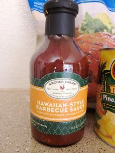 Six Sisters' Stuff: Crock Pot Hawaiian BBQ Chicken-3 ingredients EASY recipe!