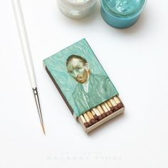 Vincent Van Gogh's Famous Paintings Skillfully Reproduced On Matchboxes - DesignTAXI.com