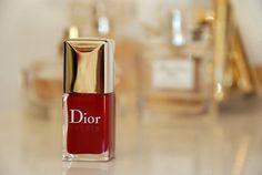 Dior !! J'adore ! Vernis red !