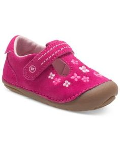 Stride Rite Soft Motion Tonia T-Strap Shoes, Baby Girls (0-4) & Toddler Girls (4.5-10.5) - Pink 5.5W