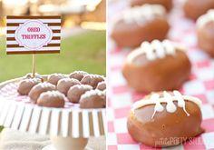 Football oreo truffles #oreo #truffles