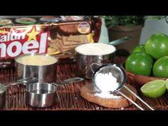 Napoleón de limón con Saltín Noel Integral - YouTube Youtube, Desserts, Cold Desserts, Food, Noel, Tailgate Desserts, Deserts, Postres, Dessert