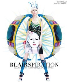 Headband inspired by In Living colour in Harper's Bazaar Malaysia May 2014