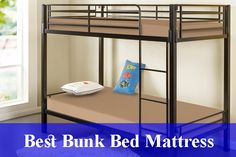 All Time Reviews - Best Bunk Bed Mattress Reviews (Updated) - When purchasing bunk bed mattress, try not to purchase an item that is amazingly thick and .... Bunk Bed Mattress, Latex Mattress, King Size Mattress, Pillow Top Mattress, Best Mattress, Foam Mattress, Cool Bunk Beds, Bed Reviews, Best Pillow