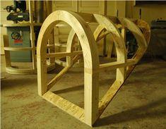 Framing A Barrel Roof Dormer Fine Homebuilding Question