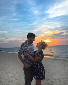 The perfect sunset with you