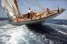 Classic yacht Eleonora E is an impressive 'modern classic' auxiliary gaff schooner built in 2002 as a replica of the mythic Nathaniel Herreshoff schooner Westward.