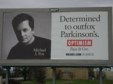Michael J Fox is a hero.    (From The Foundation for a Better Life)
