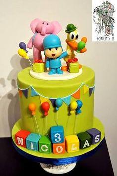 cake pocoyo - Pesquisa Google