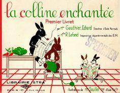 Gauthier-Echard, Lafond, La colline enchantée (méthode mixte de lecture)