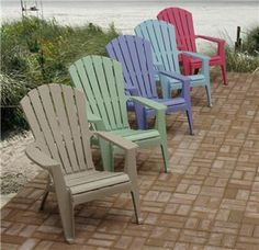 Plastic Adirondack Chairs For Sale
