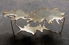 // Stefan Bishop | Puddle bronze table