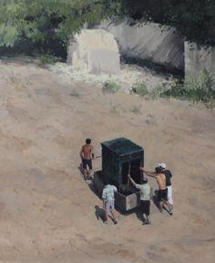 Serban Savu, recent work on Mihai Nicodim gallery website (no details given)