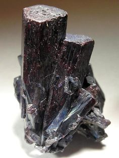 Red Prismatic Pyrargyrite Crystals from St Andreasberg District, Harz Mts, Lower Saxony, Germany