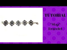 "Tutorial perline: come realizzare un bracciale ""May"" con superduo - YouTube"