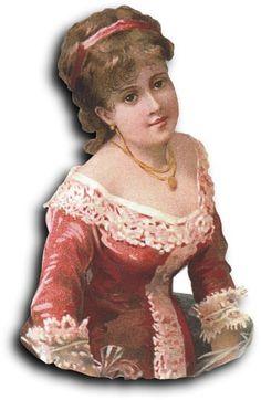 Victorian scrap: Woman