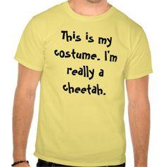 Cheetah Costume