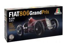 FIAT 806 GRAN PRIX scala 1:12 Italeri art. 4702