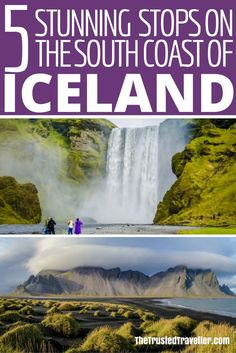 Check out these 5 stunning stops of the South Coast of Iceland - The Trusted Traveller