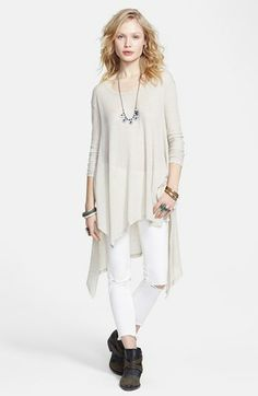 Free People Asymmetrical Tunic Top available at #Nordstrom