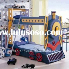 Train Bedding For Boys | boys bunk beds with stairs, boys bunk beds with stairs Manufacturers ...