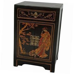black-lacquer-end-table-cabinet