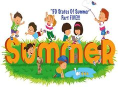 50 States of Summer Part Five! Three! Part 5/5 to our summer fun guide by state. #usa #family #kids #familydaysout #summer
