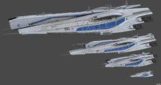 Comparison Alliance Ships Concept by nach77 on DeviantArt