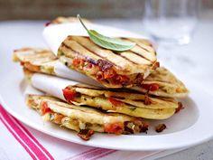 Leckere Grillideen: Tomaten-Panini als Vorspeise?