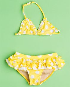 Yellow Polka Dot bikini http://www.ruelala.com/invite/mmorten01