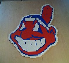 "You know you are only a ""real"" fan when you have your favorite baseball team's logo made out of LEGO!"