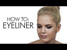 (4) Eyeliner για Αρχάριες (i MIKRI OLLANDEZA) - YouTube Eyeliner, Youtubers, Make Up, Eye Liner, Makeup, Youtube, Maquiagem, Eyeliner Makeup