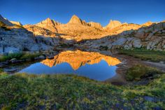 'Reflections in Granite Park'; Inyo National Forest, California © Cliff LaPlant