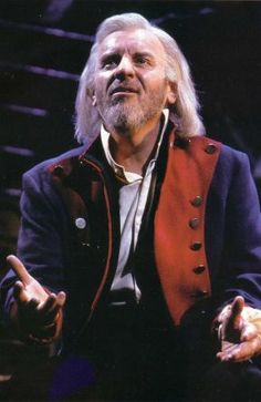 Colm Wilkinson the original Jean Val Jean. Amazing performer who sings with such conviction and heart
