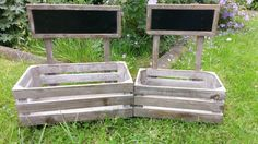 Planters/storage boxes