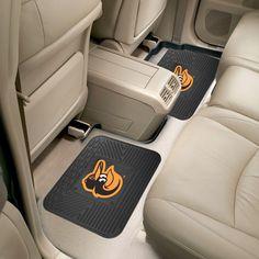 FANMATS Missouri Tigers Heavy Duty 2-Piece Vinyl Car Mats