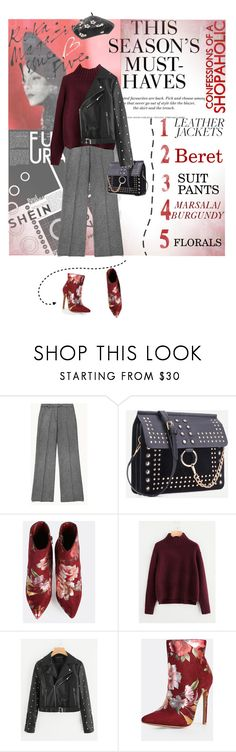 """""""Cool-Girl Style: Leather Jackets"""" by lacas ❤ liked on Polyvore featuring H&M and leatherjackets"""