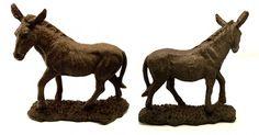 #tosimplyshop Large Cast Iron Donkey Statue #gifts #homedecor #gardendecor #decor #home #garden #shopping