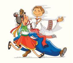 Векторные изображения: Танец