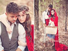 The Story of Red Riding Hood | Green Wedding Shoes Wedding Blog | Wedding Trends for Stylish + Creative Brides